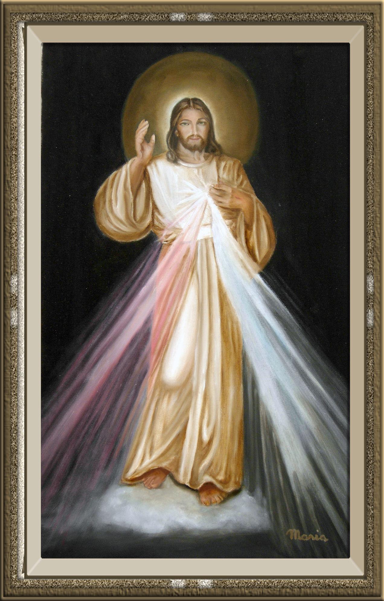 Divina misericordia logo